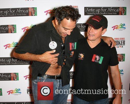Brad Garrett and Matt Damon 2