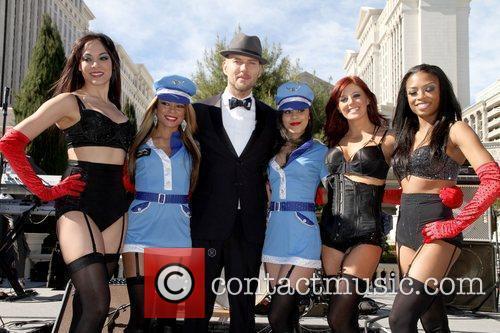 Matt Goss and Dancers English singer Matt Goss...
