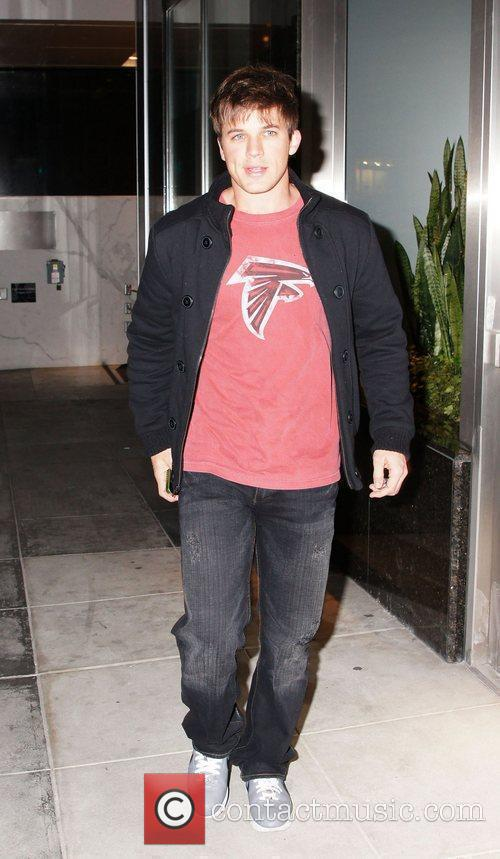 Matt Lanter is seen out and about in...