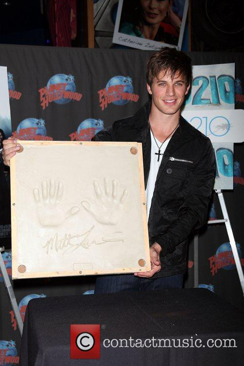 Matt Lanter  promotes his starring role on...