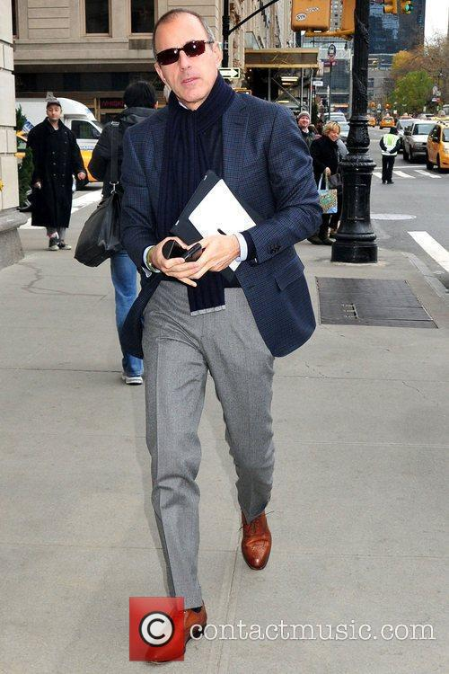 Matt Lauer television journalist for the 'Today' show...