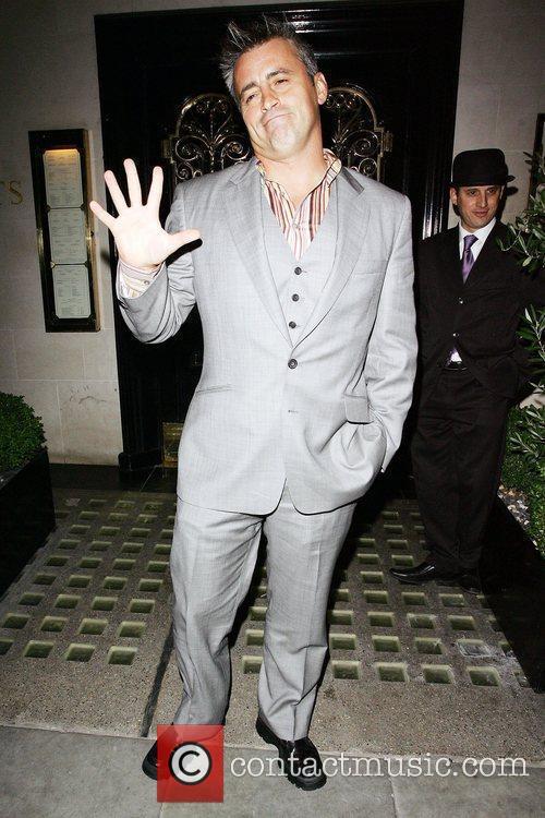 Matt LeBlanc leaving The Scotts restaurant in Mayfair