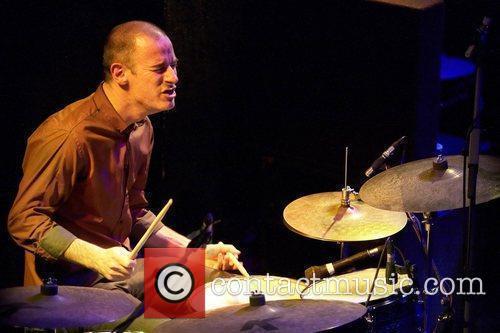 Evan Jenkins UK Blues guitarist, Matt Schofield performing...