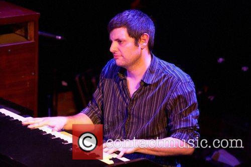Jonny Henderson UK Blues guitarist, Matt Schofield performing...