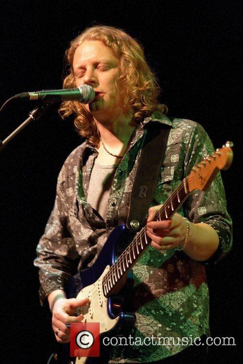UK Blues guitarist, Matt Schofield performing live at...