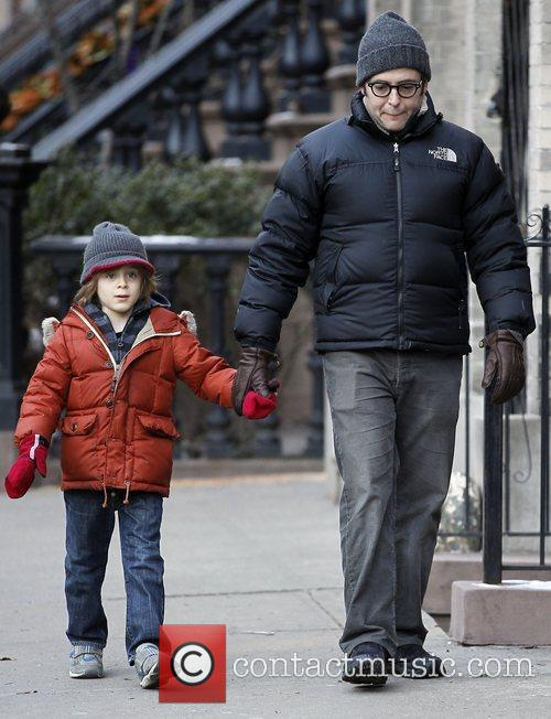 Matthew Broderick and his son James Wilke Broderick...