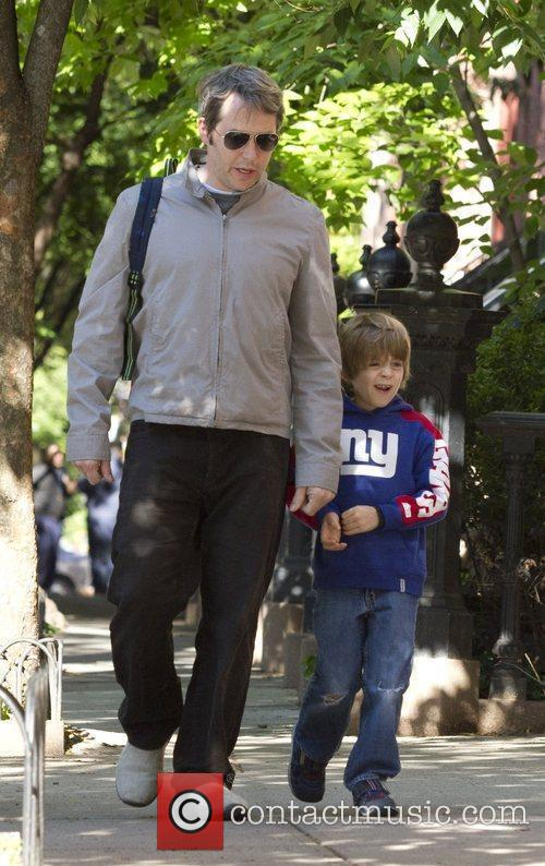 Matthew Broderick and his son James Wilkie Broderick...