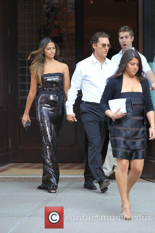 Matthew McConaughey and Camila Alves 9