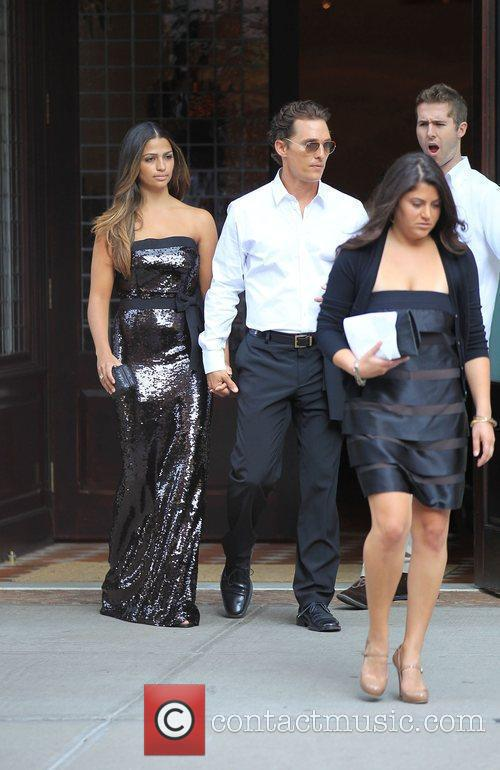 Matthew McConaughey and Camila Alves 7