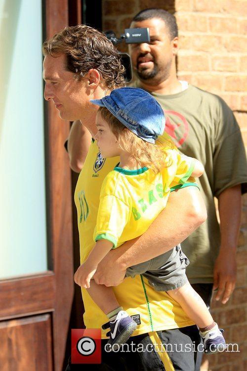 Matthew McConaughey and Levi McConaughey 5