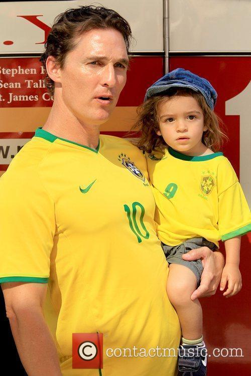 Matthew McConaughey and Levi McConaughey 7