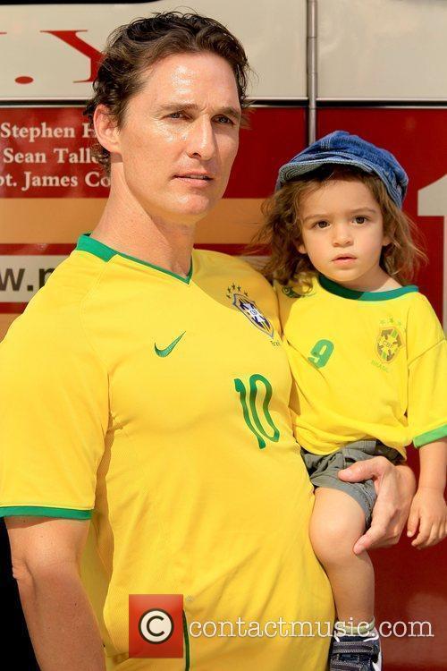 Matthew McConaughey and Levi McConaughey 8