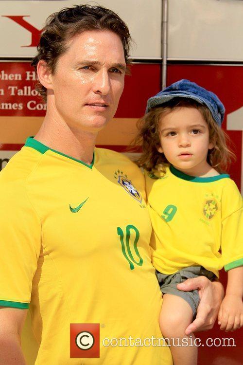 Matthew McConaughey and Levi McConaughey 2