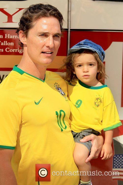 Matthew McConaughey and Levi McConaughey 3