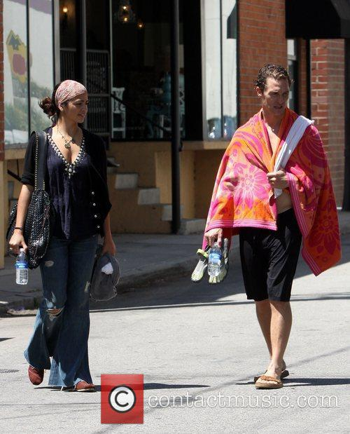 Matthew Mcconaughey and Camila Alves 5