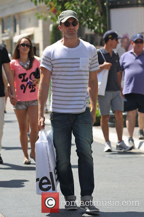Matthew Morrison from Glee go's shopping at Create...