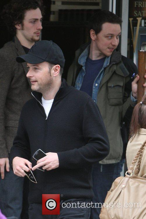 Matthew Vaughn and James Mcavoy 10