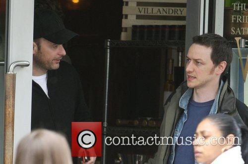 Matthew Vaughn and James Mcavoy 11