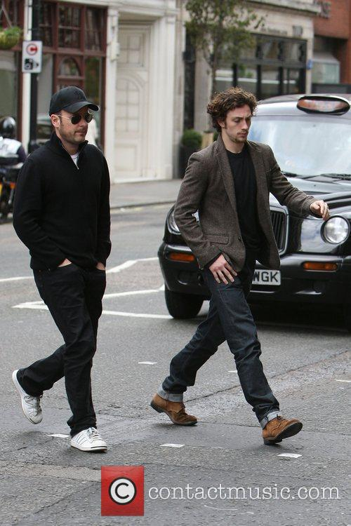 Matthew Vaughn and Aaron Johnson 9