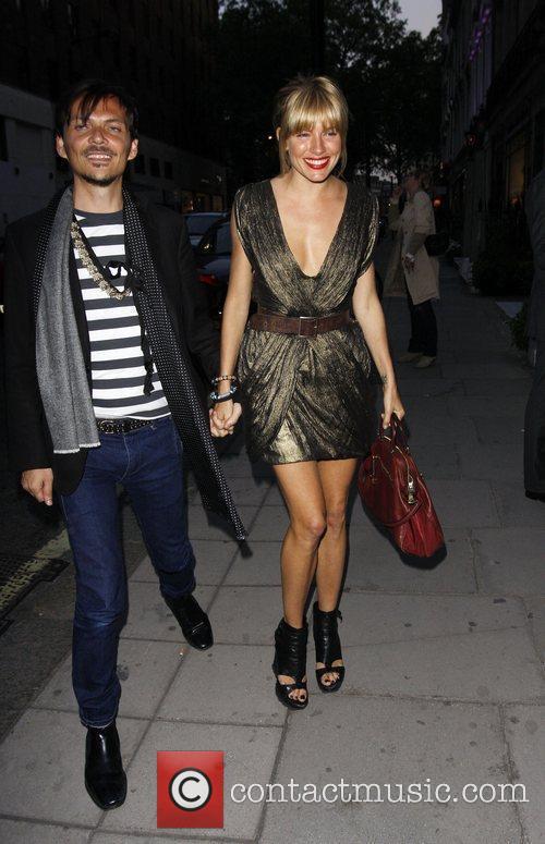 Matthew Williamson and Sienna Miller Matthew Williamson launches...