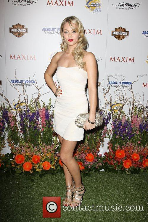 Laura Vandervoort Maxim Hot 100 Party With Harley-Davidson,...