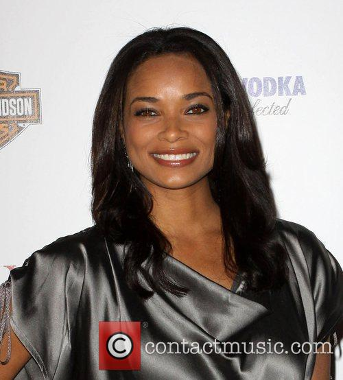 Rochelle Aytes Maxim Hot 100 Party With Harley-Davidson,...