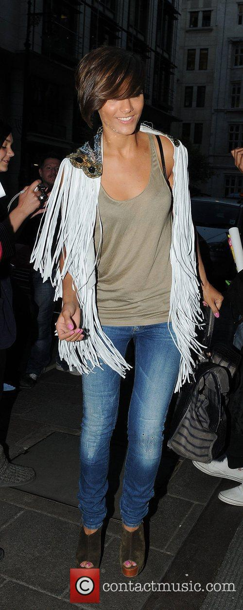 Frankie Sandford of The Saturdays at the May...