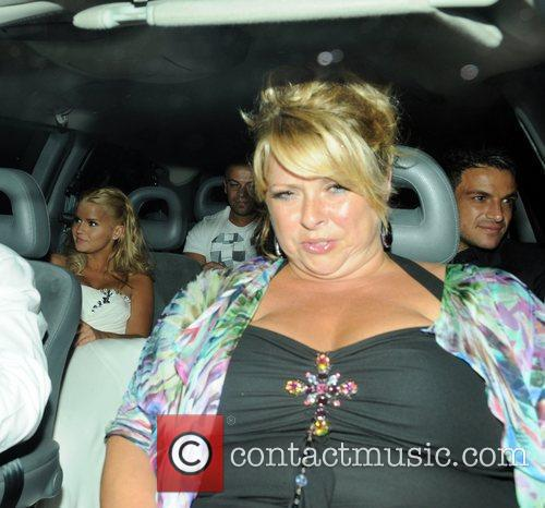 Kerry Katona, Claire Powell and Peter Andre Guests...