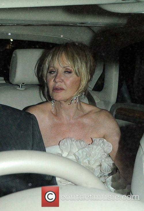 Lulu Guests attend Elton John's White Tie and...