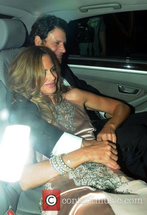 Trinny Woodall Guests attend Elton John's White Tie...
