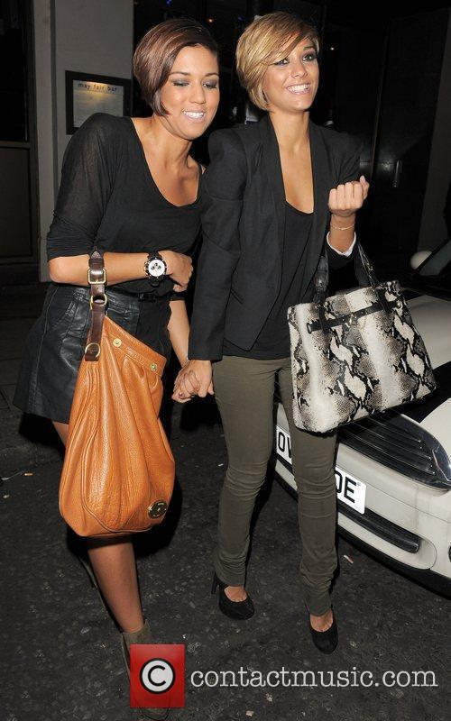 Frankie Sandford from girl group The Saturdays, enjoys...
