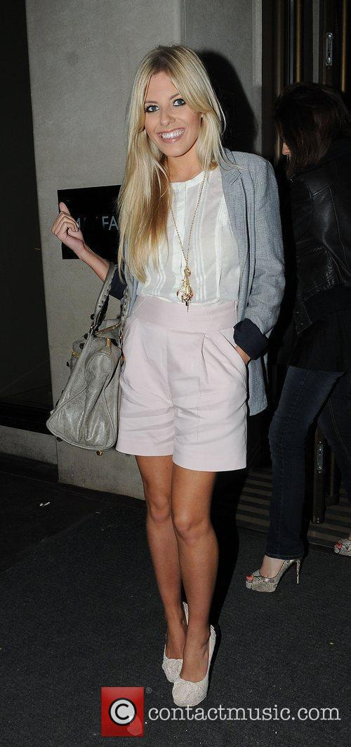 Mollie King of The Saturdays at the May...