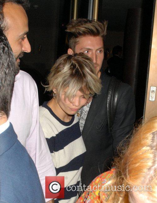 Pixie Geldof leaves The May Fair Hotel London,...