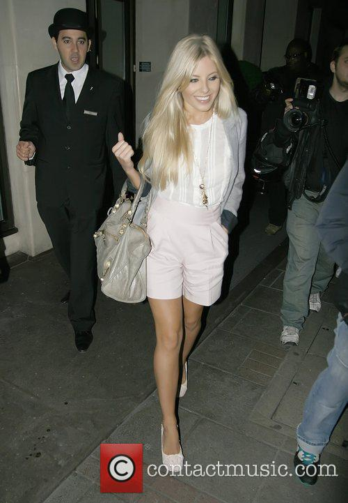 Mollie King of The Saturdays  outside the...