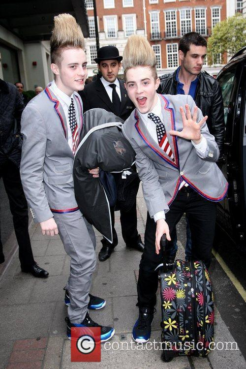 Jedward, aka John Grimes and Edward Grimes Celebrities...