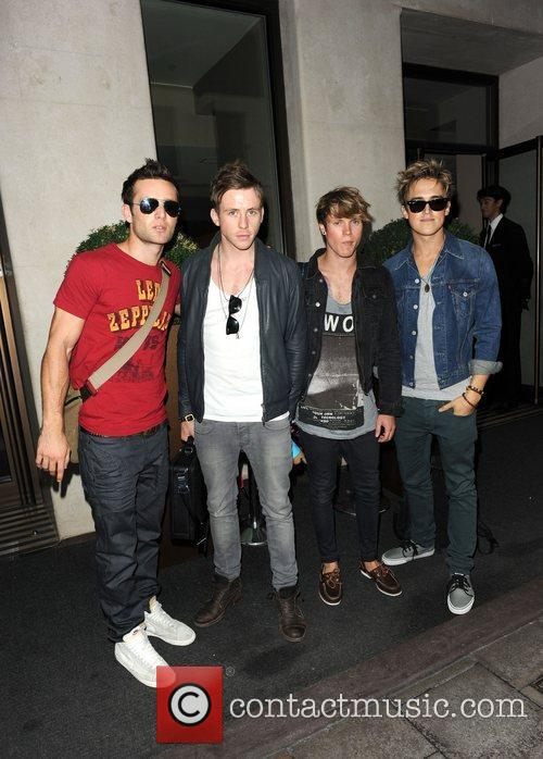 danny jones and dougie poynter. Harry Judd and Danny Jones,