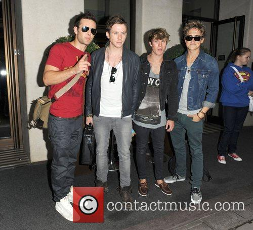 Harry Judd, Danny Jones, Dougie Poynter, McFly, Tom Fletcher