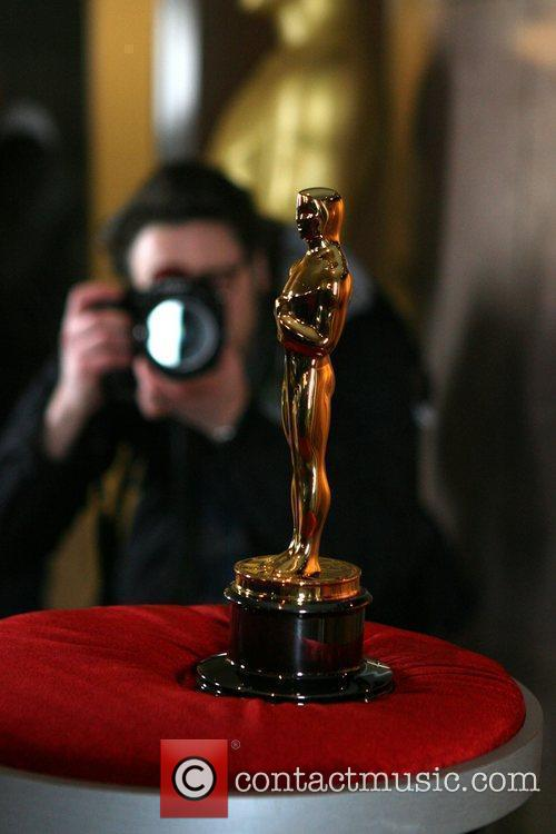 'Meet the Oscars' exhibition of Oscar Statuettes presented...
