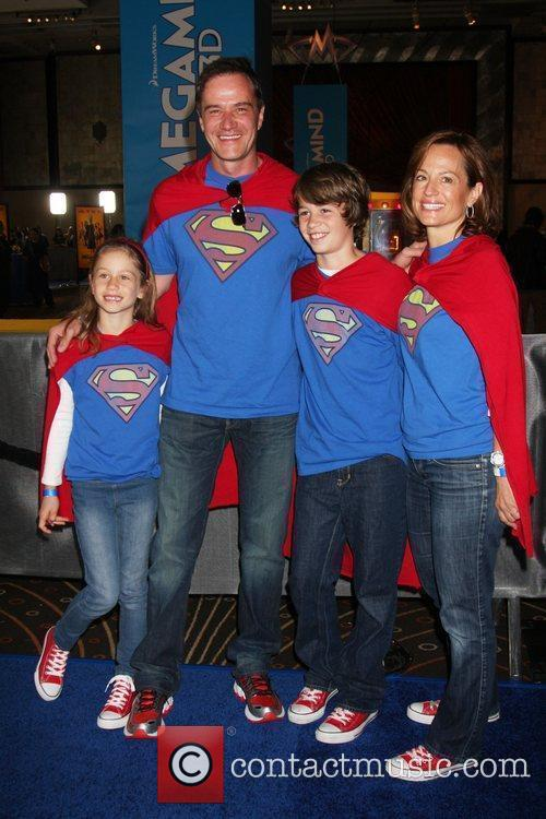 Tim DeKay and his family Los Angeles premiere...