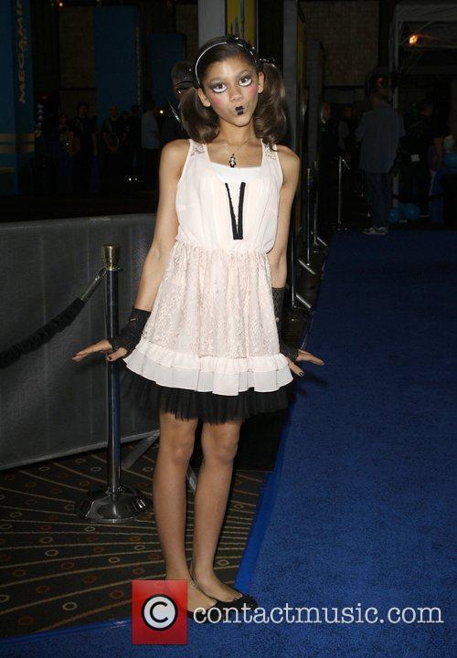 Zendaya Coleman Los Angeles premiere of 'Megamind' at...