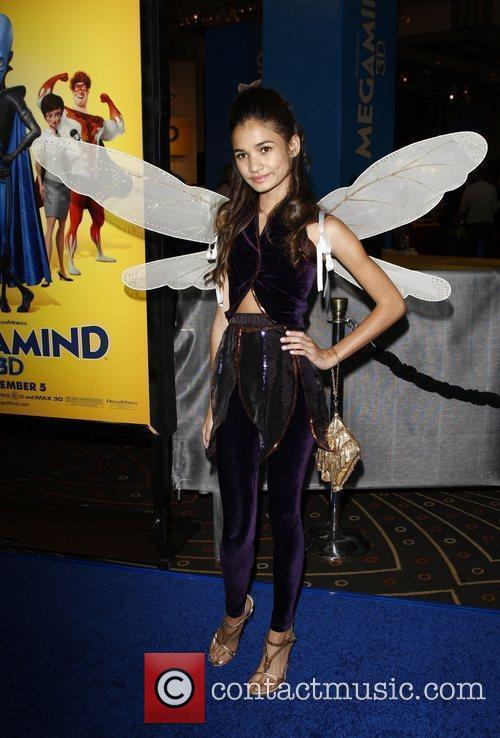 Pia Mia Los Angeles premiere of 'Megamind' at...