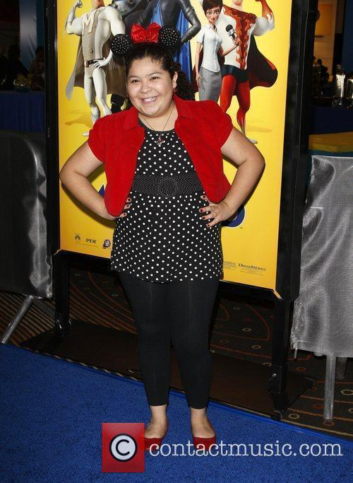 Raini Rodriguez Los Angeles premiere of 'Megamind' at...