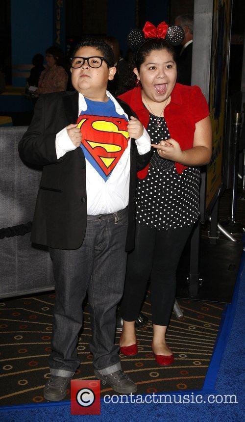 Rico and Raini Rodriguez Los Angeles premiere of...