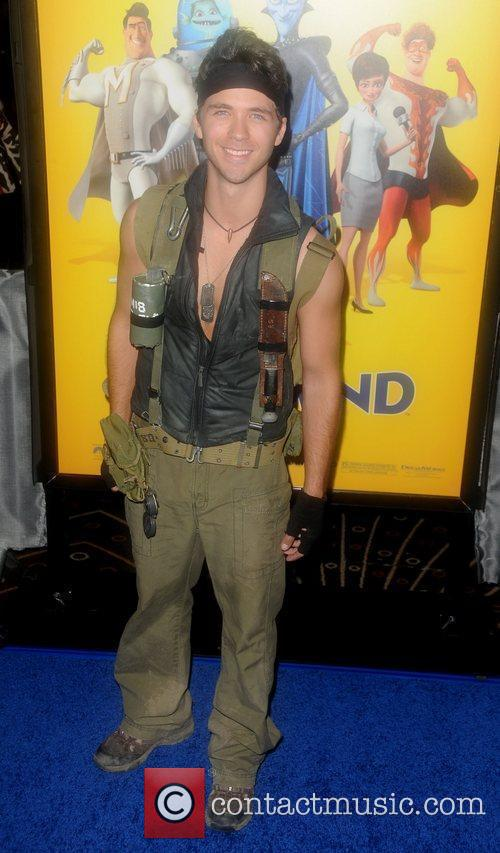 Robbie Amell Los Angeles premiere of 'Megamind' at...