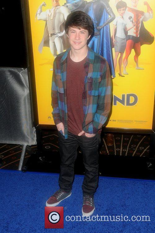 Nathan Kress Los Angeles premiere of 'Megamind' at...