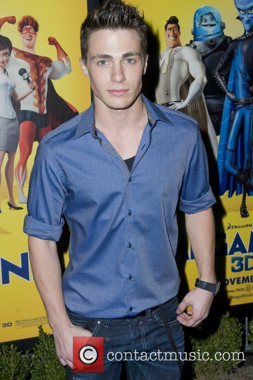 Colton Haynes The New York Premiere of 'Megamind'...