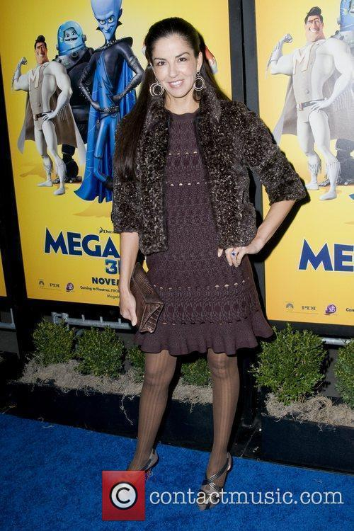 Guest The New York Premiere of 'Megamind' held...