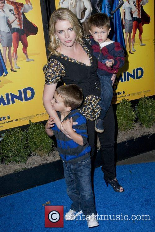 Melissa Joan Hart and sons Mason Walter Wilkerson...