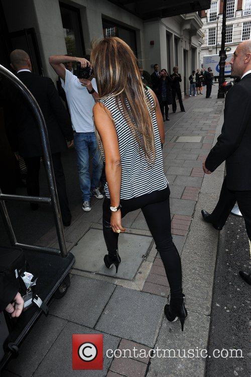 Mel B aka Melanie Brown arriving at the...
