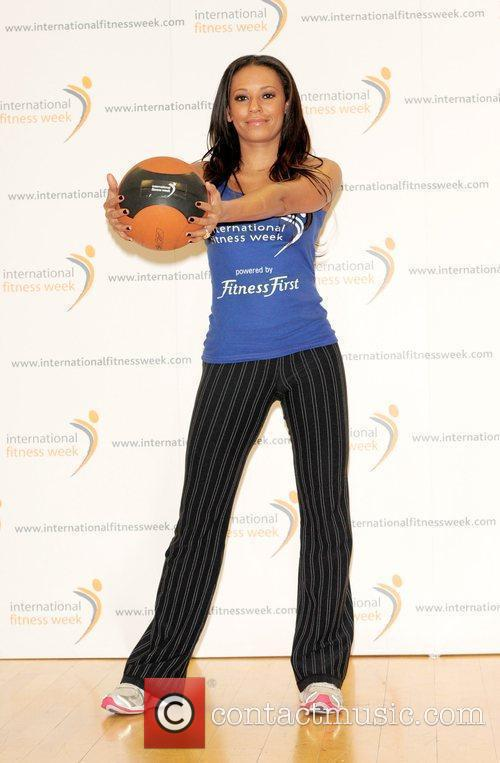 Melanie Brown, aka Mel B, launches International Fitness...
